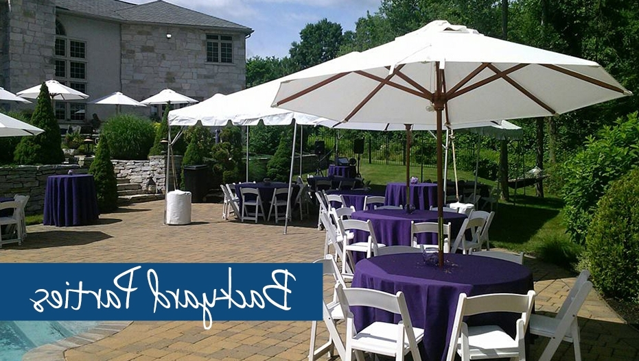 Michaels Party Rentals Pertaining To Well Known Patio Umbrellas For Rent (View 10 of 15)