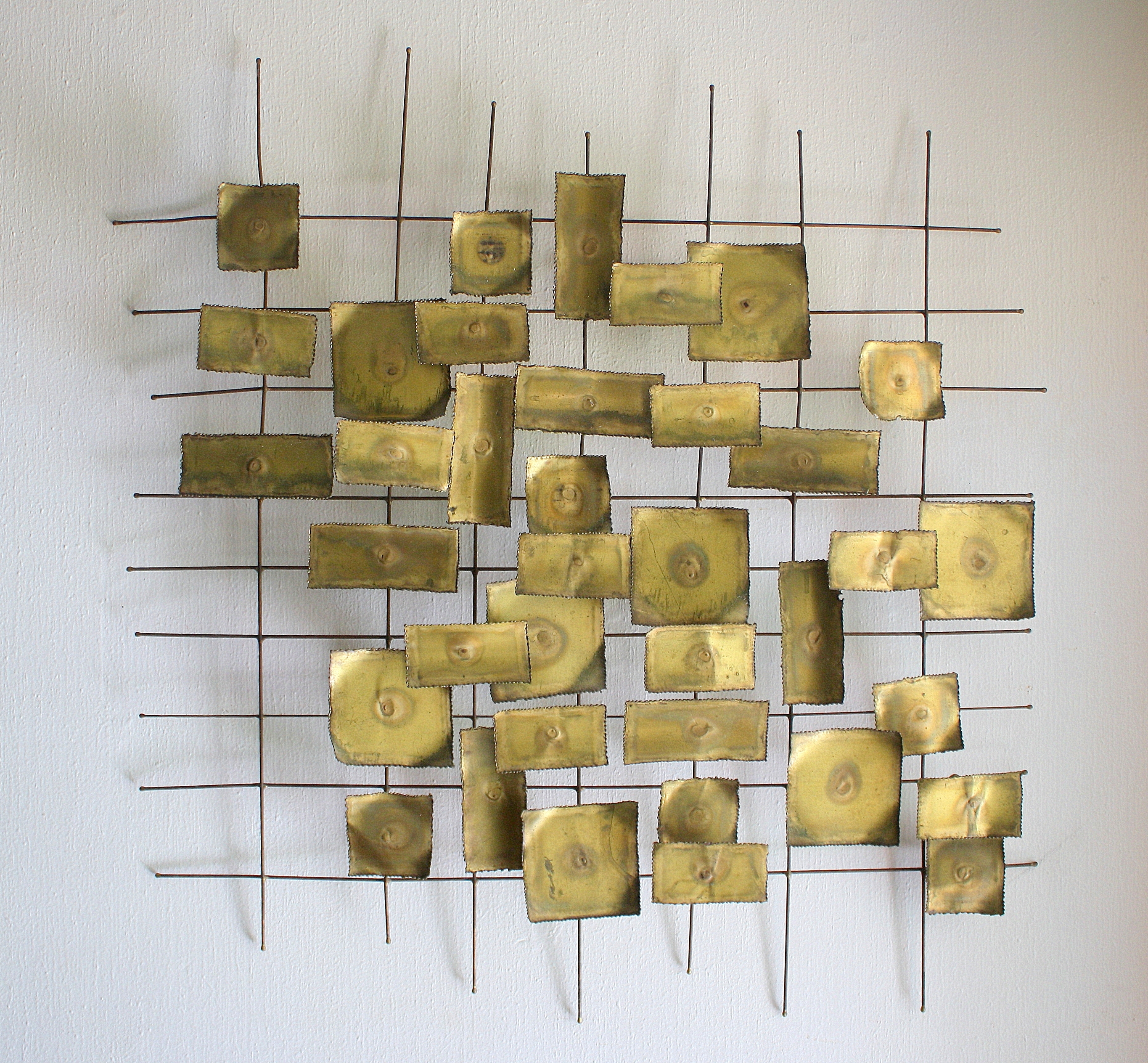 Mid Century Modern Wall Art With Famous Mid Century Modern Brutalist Wall Sculpture Art (View 8 of 15)