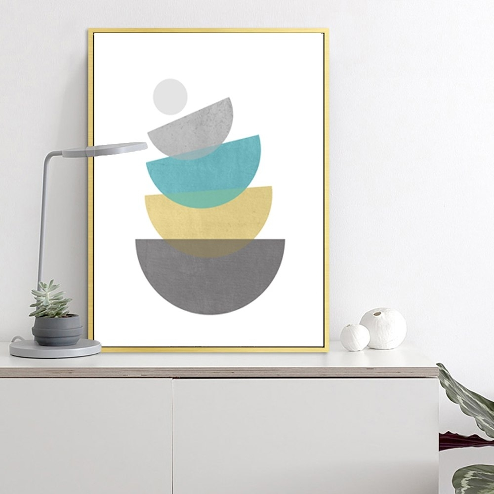 Mid Century Wall Art Within Well Known Canvas Printable Painting Scandinavian Print Mid Century Modern Mid (View 11 of 15)
