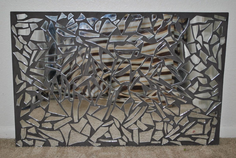 Mirror Mosaic. $40.00, Via Etsy (View 10 of 15)