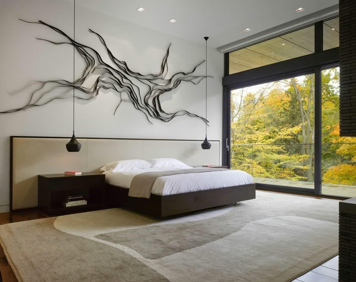 Modern Bedroom Wall Decor With Wall Art • Recous Regarding Preferred Bedroom Wall Art (View 9 of 15)