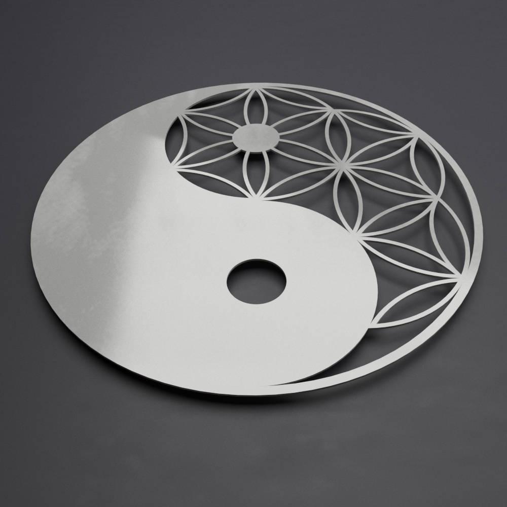 Modern Metal Wall Art Regarding Favorite Yin Yang Metal Wall Art Sculpture, Zen Wall Decor, Modern Metal Wall (View 11 of 15)
