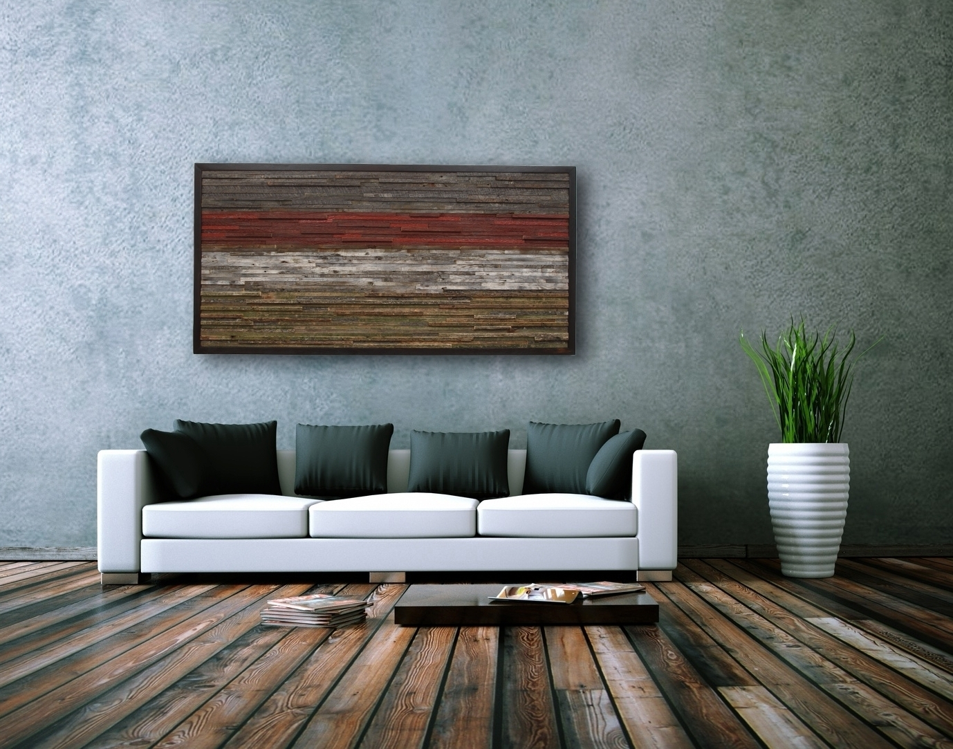 Modern Rustic Wall Decor Ideas (View 9 of 15)