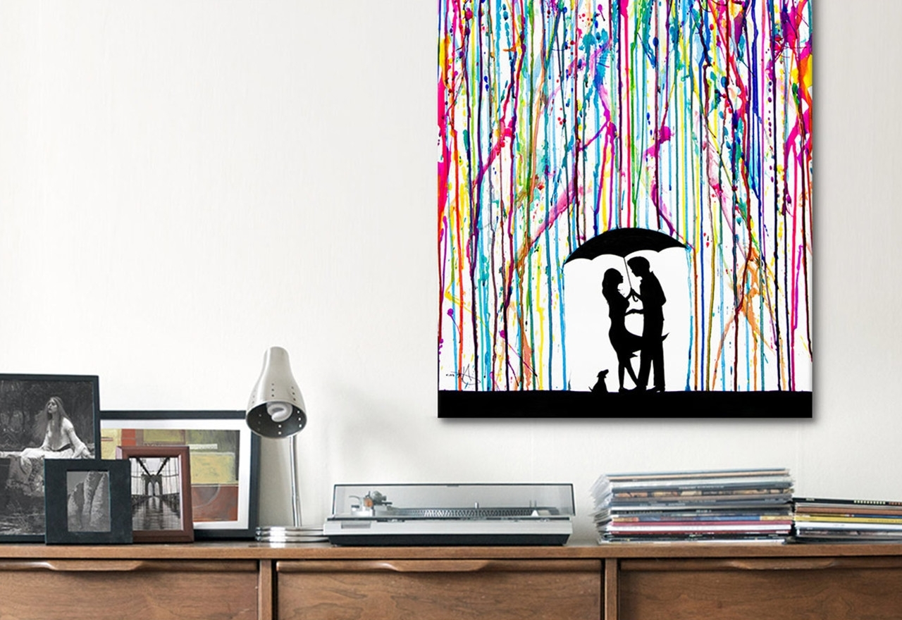 Modern Wall Art Pertaining To Favorite Modern Canvas Wall Art Creation : Andrews Living Arts – Modern (View 6 of 15)