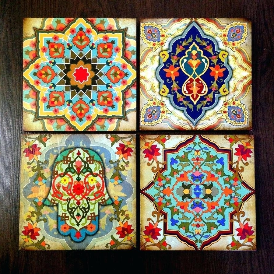 Moroccan Wall Art For Well Known Moroccan Wall Art – Culturehoop (View 5 of 15)
