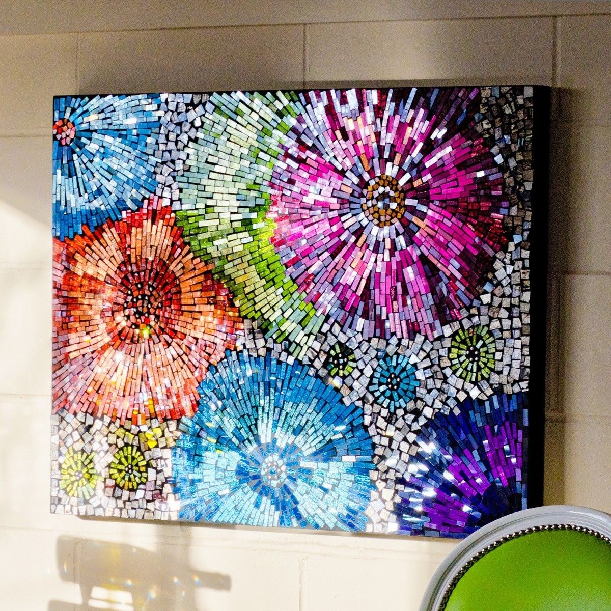 Mosaic Wall Art With 2018 Mosaic Flower Wall (View 3 of 15)