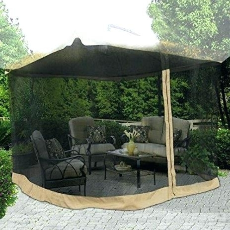 Mosquito Netting For Patio Umbrella With Netting Patio Umbrella With Throughout Most Recent Patio Umbrellas With Netting (View 3 of 15)