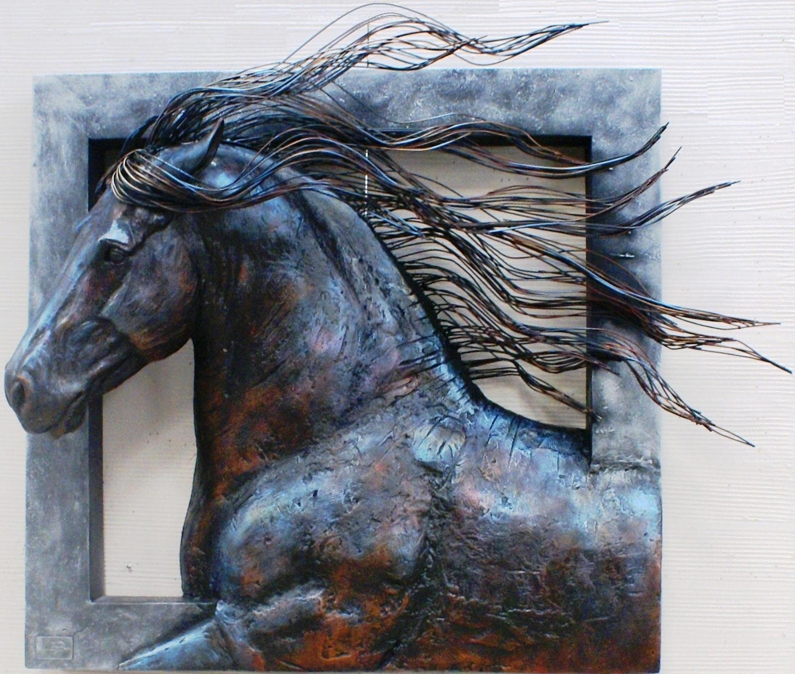 Most Current 3D Metal Wall Art Pertaining To Wall Art Designs: Awesome 10 Metal Wall Art Sculpture Killer Animals (View 10 of 15)
