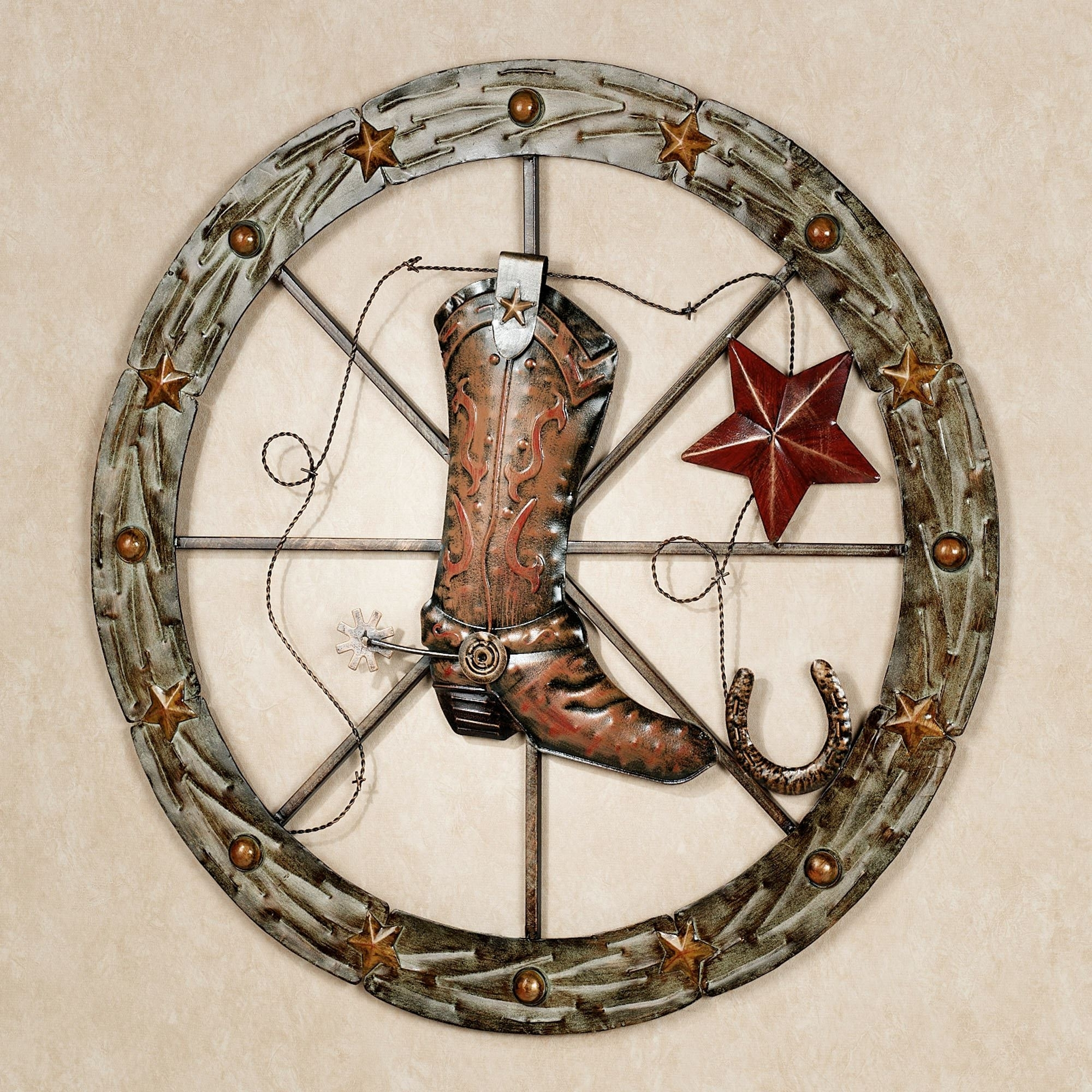 Most Current Benbrook Western Metal Wall Art In Western Wall Art (View 8 of 15)