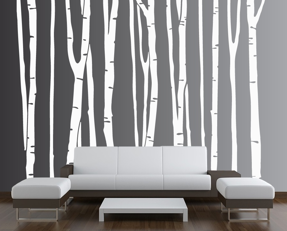 Featured Photo of Birch Tree Wall Art