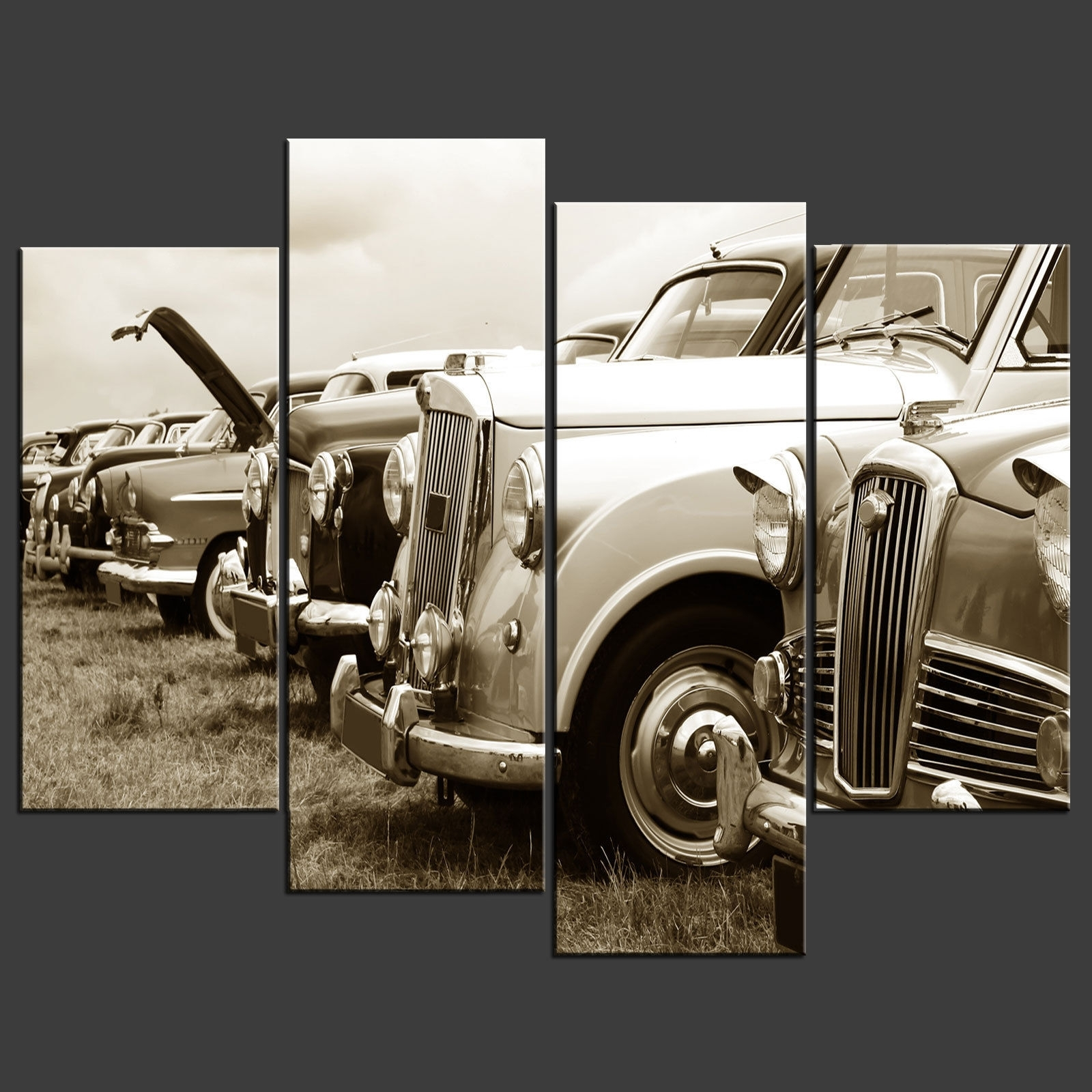 Most Current Car Canvas Wall Art With Canvas Print Pictures. High Quality, Handmade, Free Next Day Delivery (View 1 of 15)