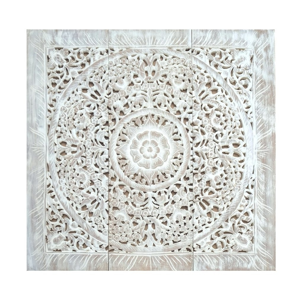 Most Current Carved Wood Wall Art For Large Carved Wood Wall Panels Wall Arts Carved Wood Wall Art Panels (View 9 of 15)