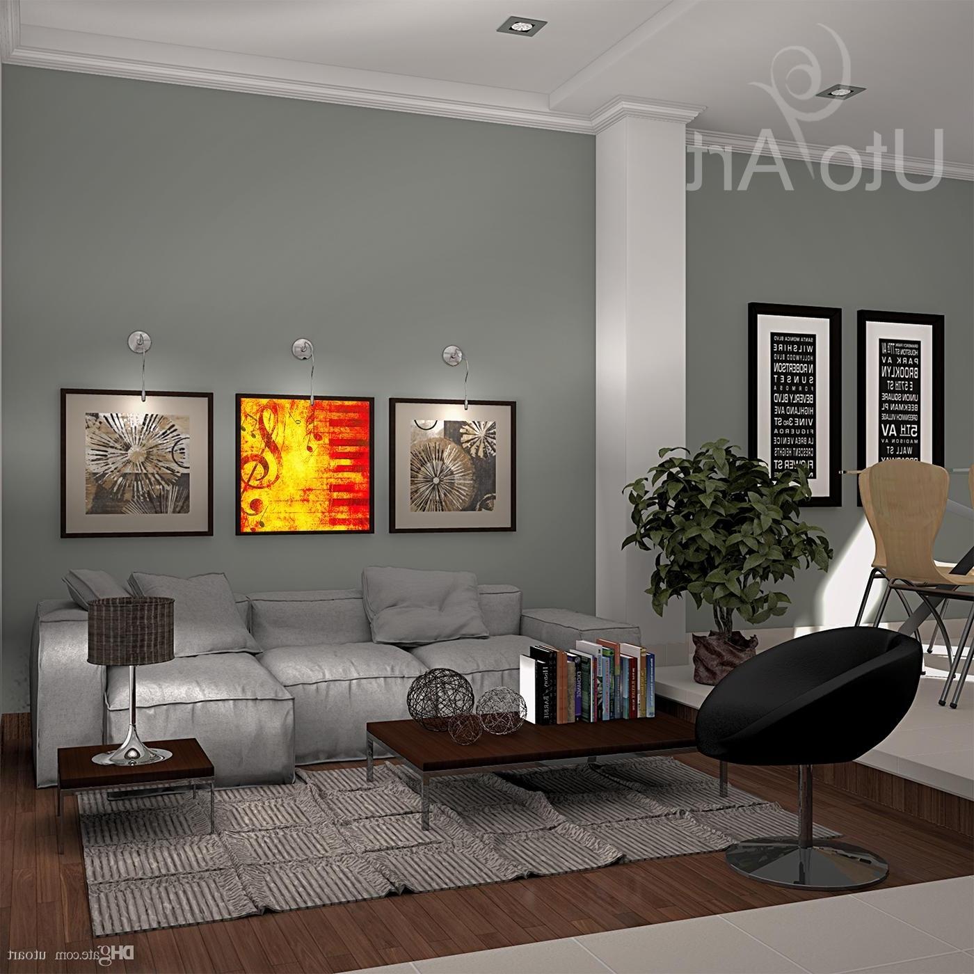 Most Current Decorative Wall Art Regarding Best Modern Home Decorative Canvas Picture Art Print Artwork (View 9 of 15)