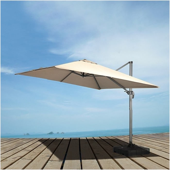 Most Current Eclipse Patio Umbrellas With Modern Patio Umbrellas » Get Renava Eclipse Modern Patio Umbrella W (View 6 of 15)