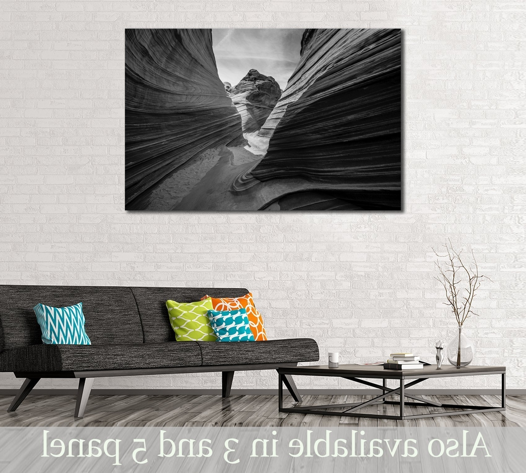 Most Current Incredible Mountains Wall Art At Zellart Canvas Of Arizona Popular With Arizona Wall Art (View 11 of 15)