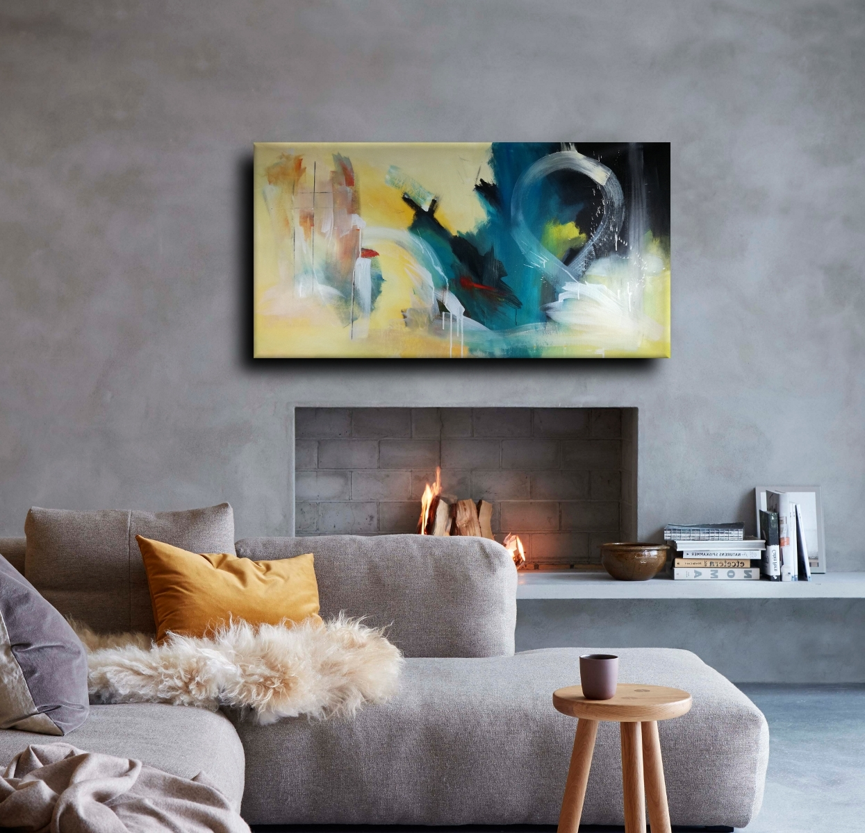 Most Current Large Abstract Canvas Wall Art 120X60 Inside Abstract Canvas Wall Art (View 8 of 15)