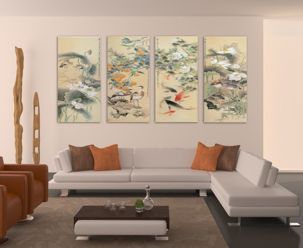 Most Current Large Wall Art Ideas — The Kienandsweet Furnitures In Wall Art For Living Room (View 15 of 15)