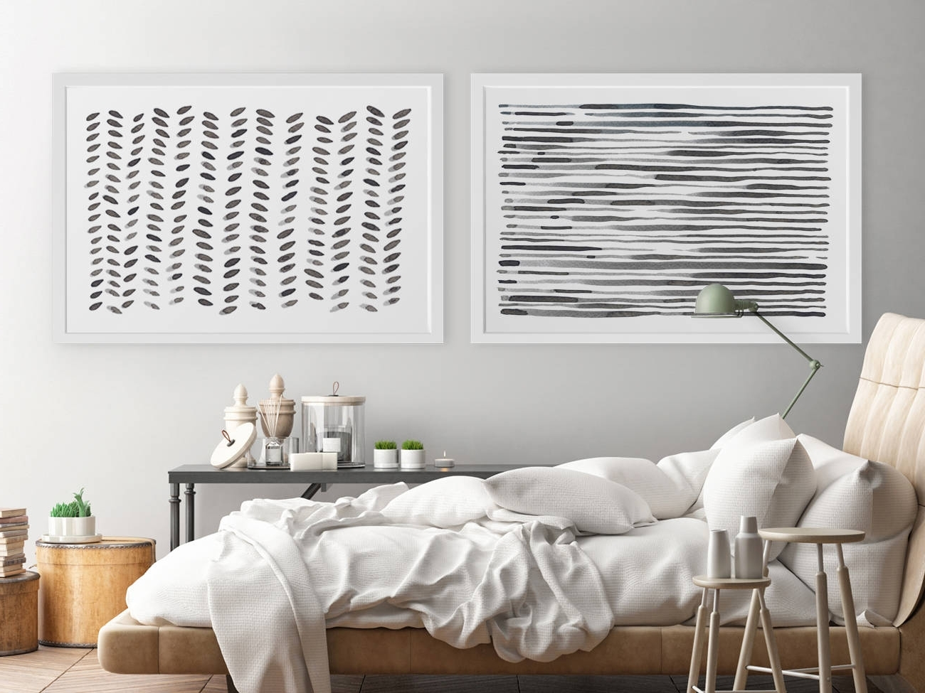 Most Current Large Wall Art Modern Wall Art Horizontal Wall Art Abstract Within Horizontal Wall Art (View 15 of 15)