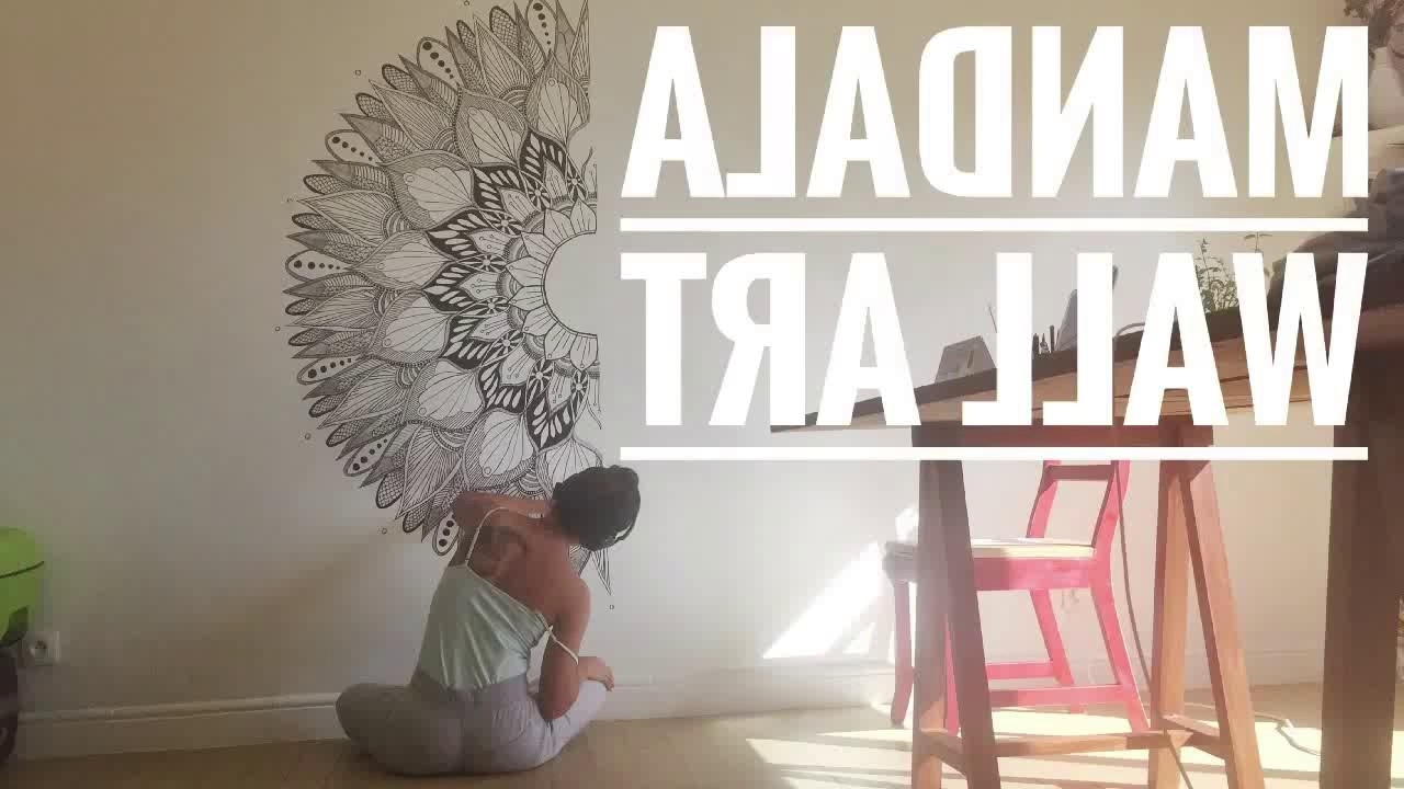 Most Current Mandala Wall Art Intended For Mandala Wall Art – Youtube (View 15 of 15)