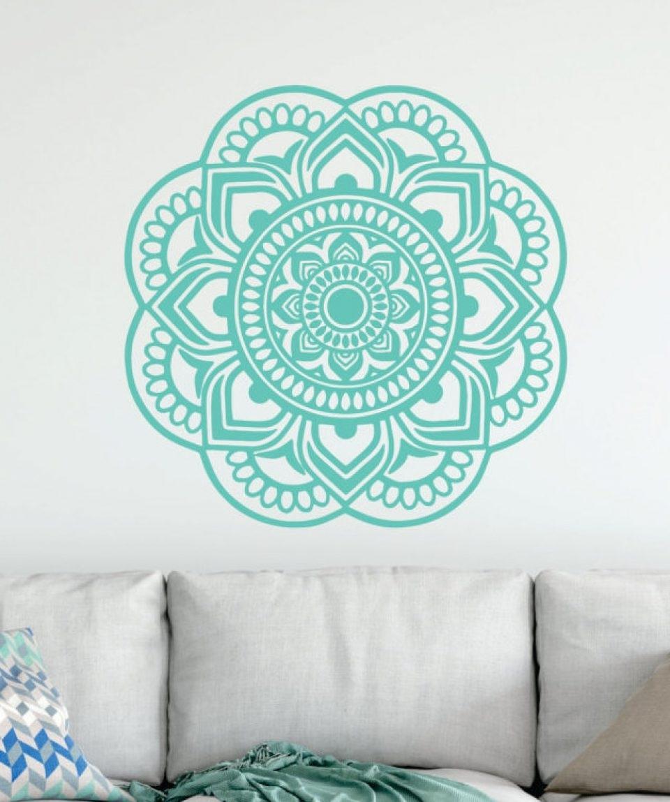 Most Current Mandala Wall Art Throughout Mandala Wall Art Workshop – Mezany (View 3 of 15)