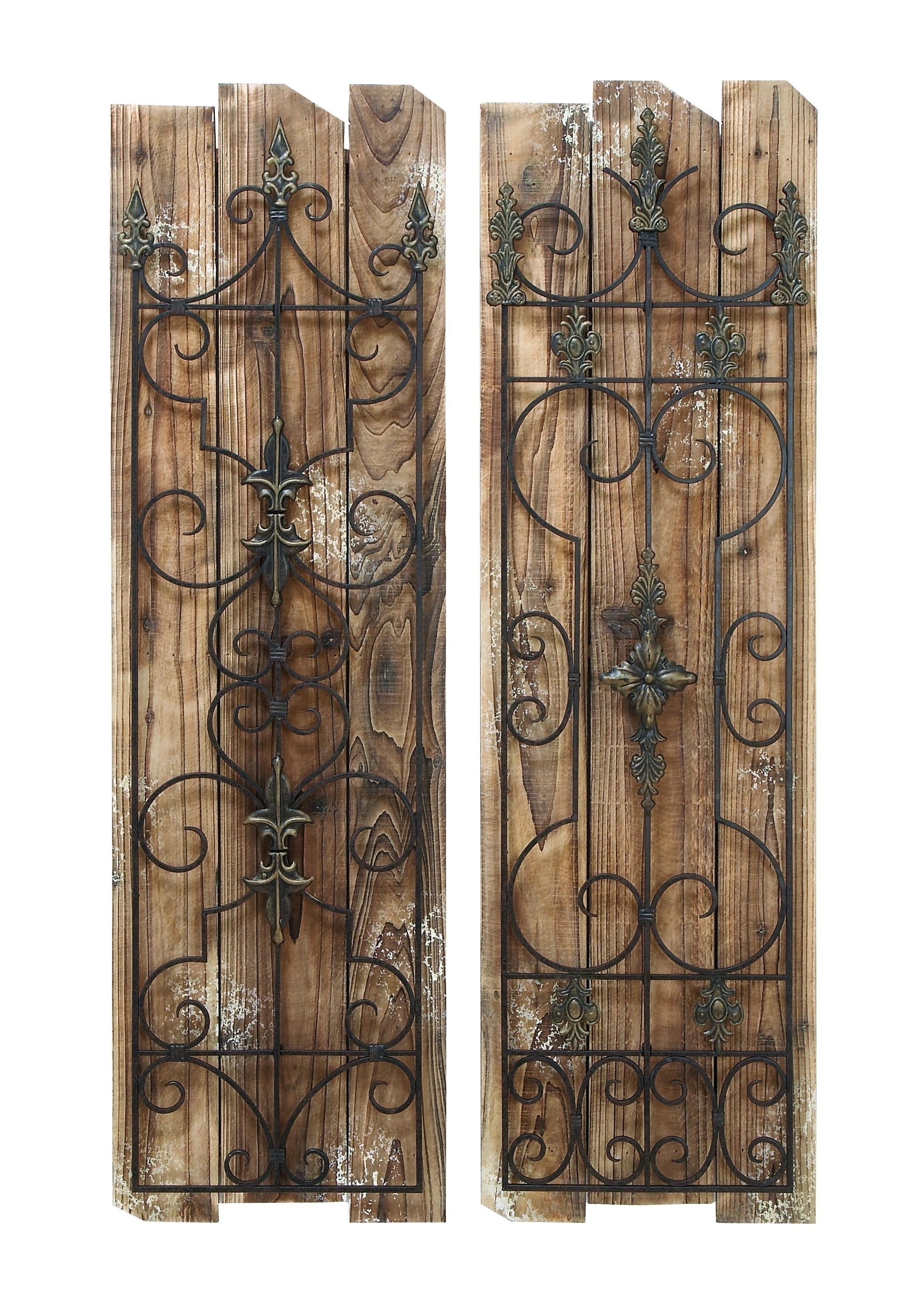 Most Current Metal Wood Wall Decor Image On Decorative Metal Wall Panels – Prix With Regard To Wood And Metal Wall Art (View 4 of 15)