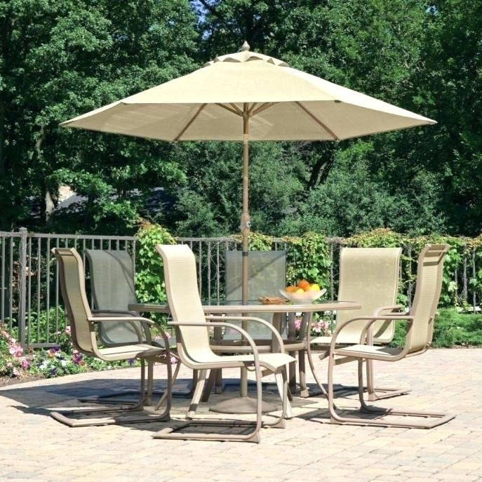 Most Current Patio Furniture With Umbrella Patio Table Umbrella Large Size Of For Patio Dining Umbrellas (View 8 of 15)