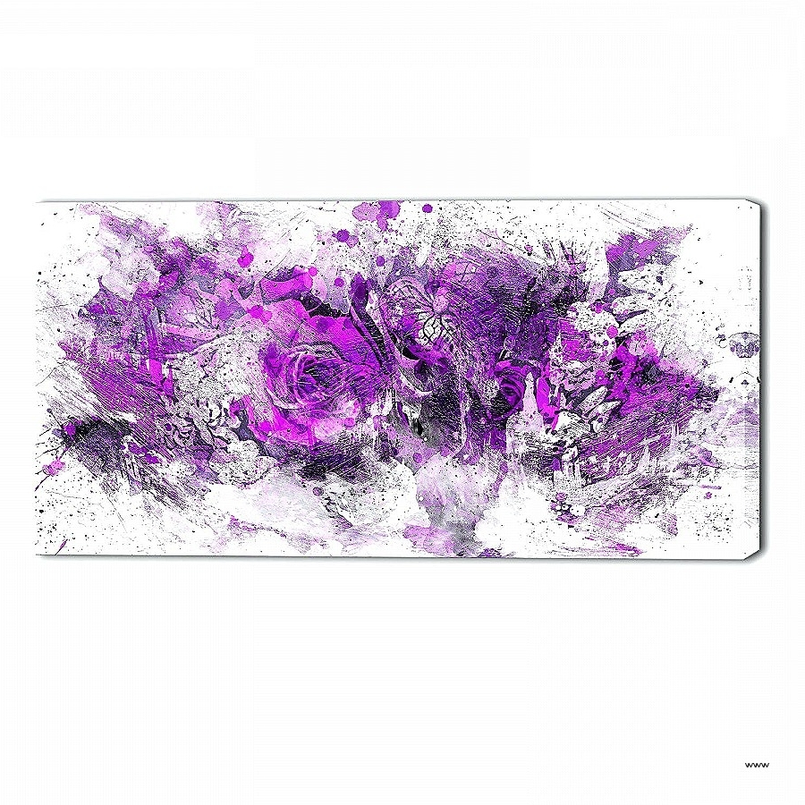 Most Current Purple Wall Art Inside Wall Art: Awesome Floral Wall Art Se ~ Robotsgonebad (View 15 of 15)