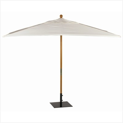 Most Current Rectangular Patio Umbrella Sunbrella » Comfy All Patio Umbrellas With Regard To Wayfair Patio Umbrellas (View 6 of 15)