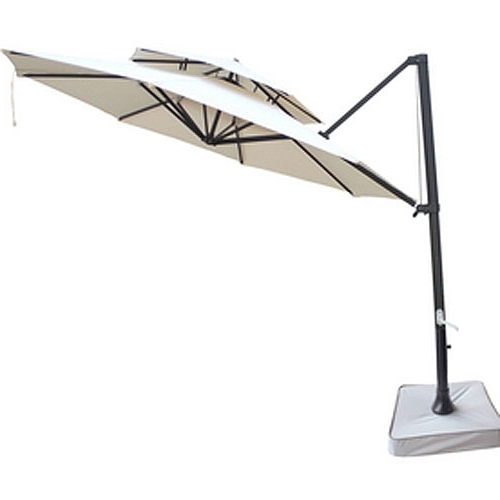 Most Current Replacement Umbrella Canopy For Lowe's Southern Patio Offset In Patio Umbrellas At Lowes (View 6 of 15)