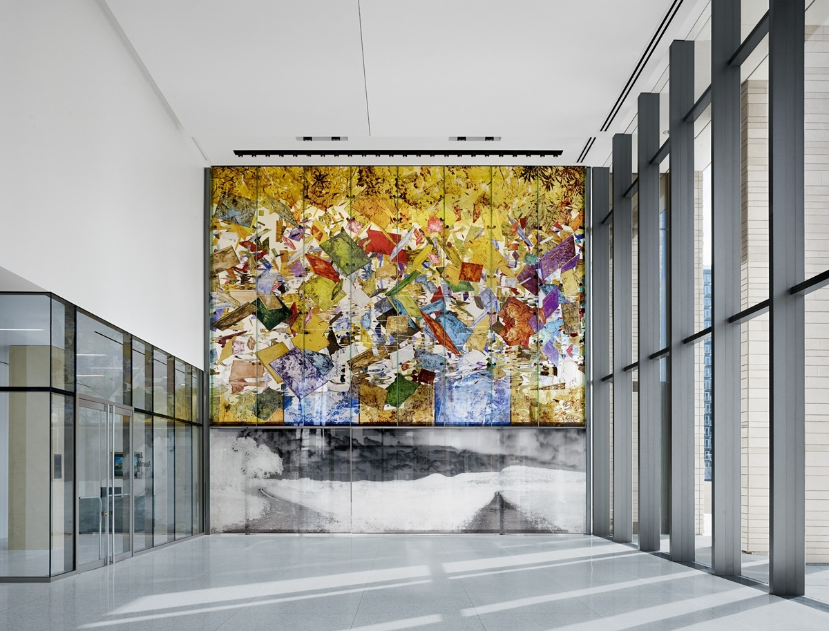 Most Current Ross Wall Art With Regard To Making The Leap: The Fabrication Of Clifford Ross's Glass Wall (View 6 of 15)