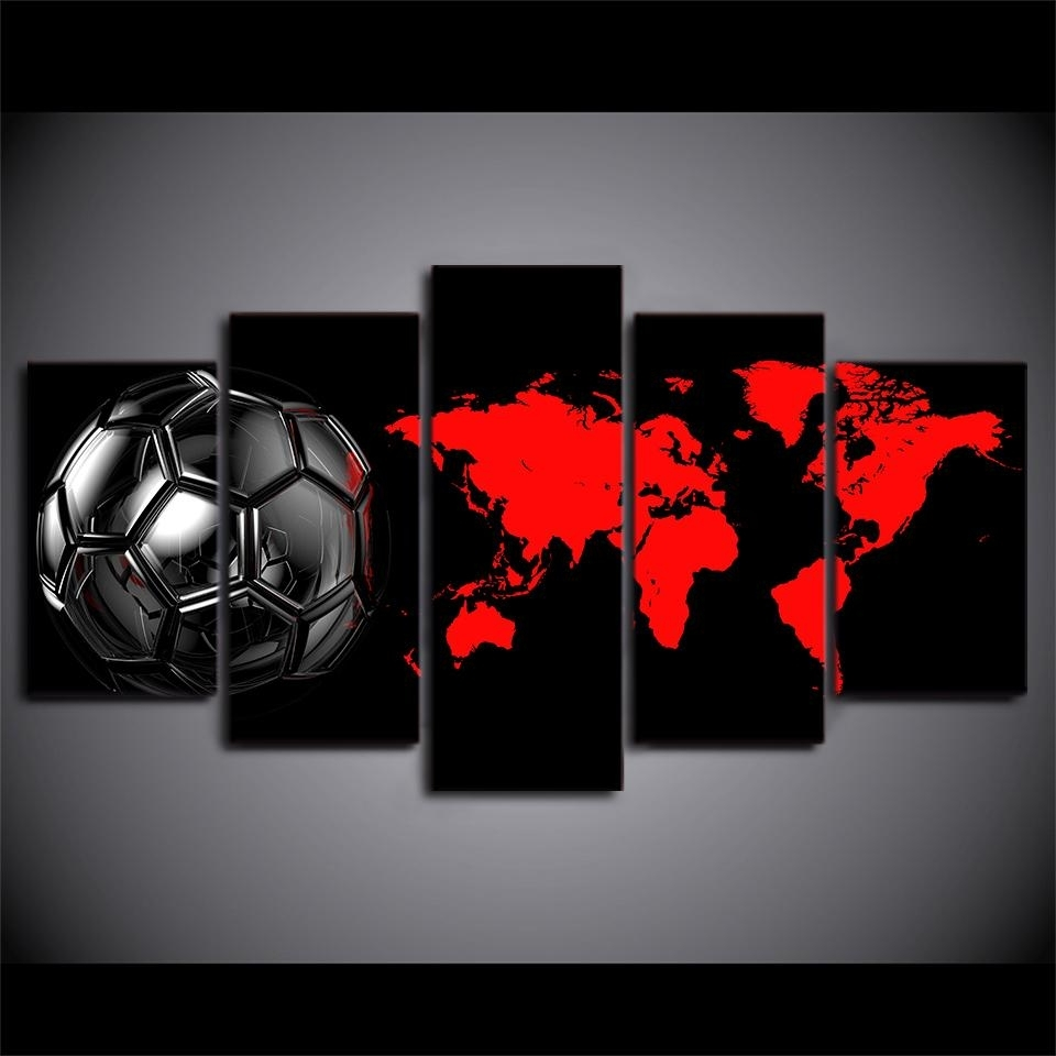 Most Current Soccer Wall Art For Soccer Football Ball Amazing Soccer Wall Art – Wall Decoration Ideas (View 5 of 15)
