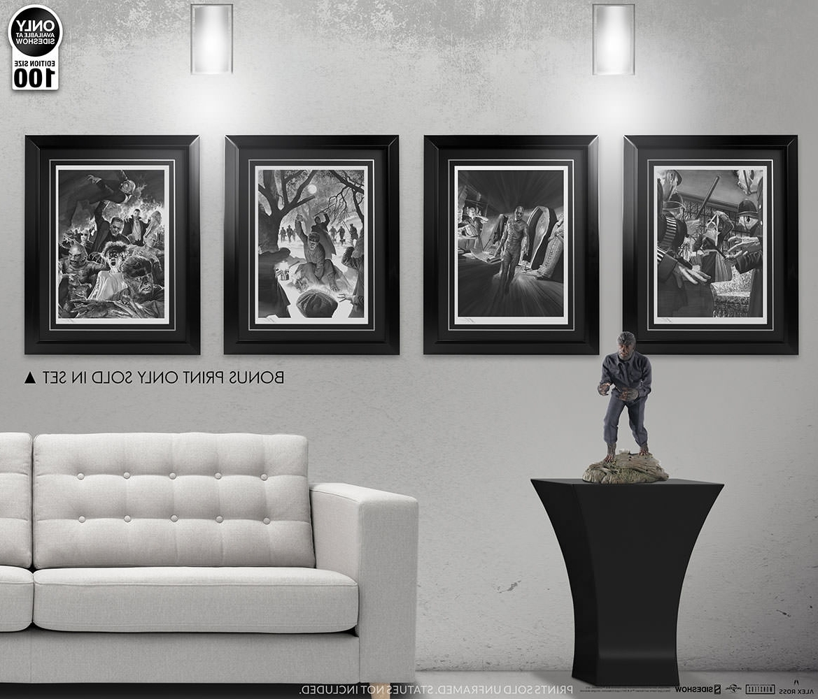 Most Current Universal Monsters Universal Monsters Art Printalex Ross In Ross Wall Art (View 7 of 15)