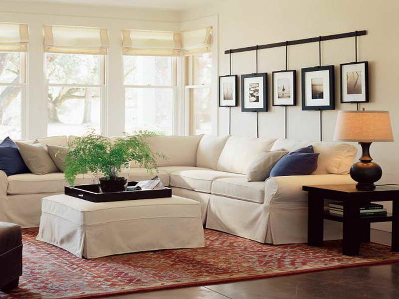 Most Current Warm Pottery Barn Living Room — Living Room Design 2018 For Pottery Barn Wall Art (View 8 of 15)