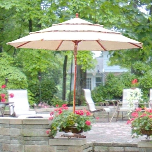 Most Popular 11 Foot Patio Umbrella Large Size Of Patio Umbrellas Patio Ribs For 11 Foot Patio Umbrellas (View 13 of 15)