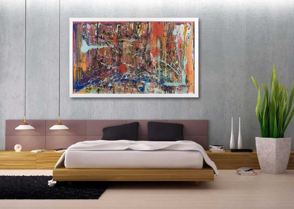 Most Popular Abstract Oversized Canvas Wall Art In Oversized Wall Art Contemporary Abstract Canvas Home Interior Best (View 11 of 15)
