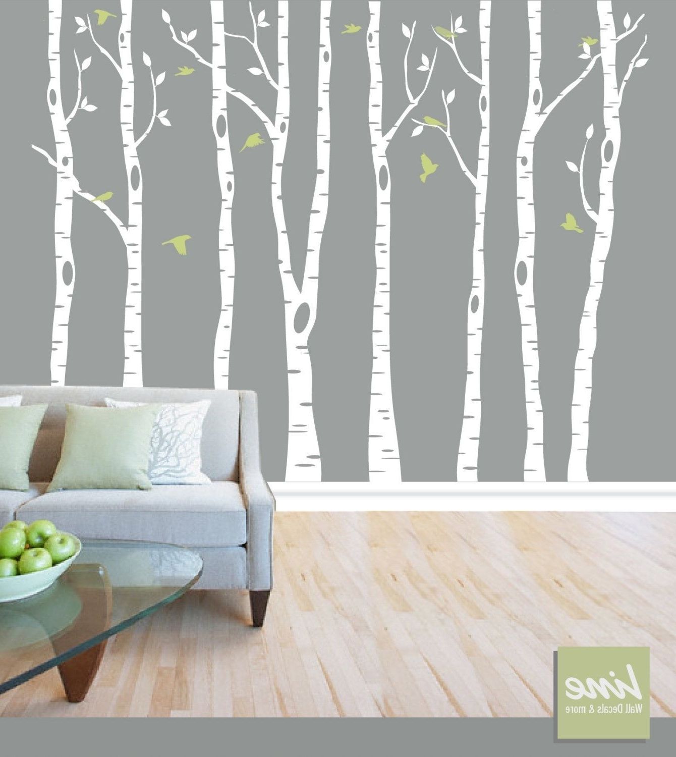 Most Popular Birch Tree Wall Decal Hobby Lobby Awesome Modern Birch Wall Decor Pertaining To Birch Tree Wall Art (View 9 of 15)