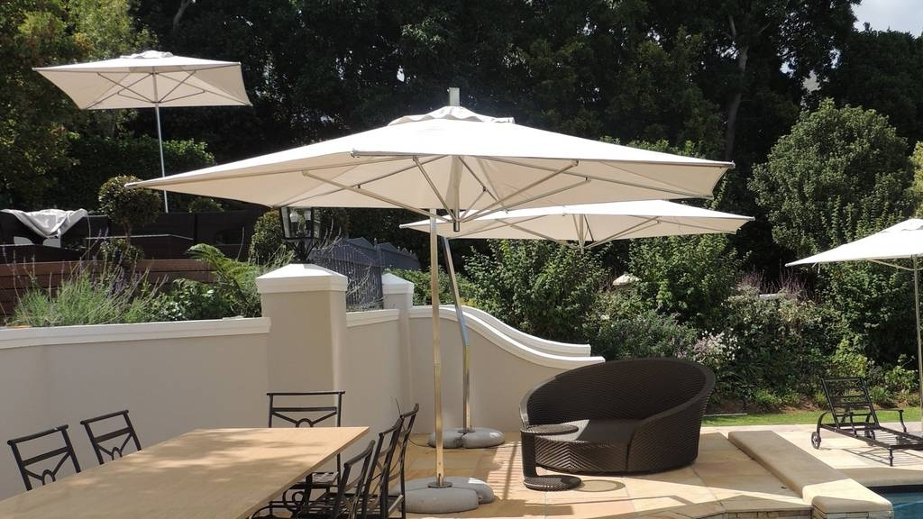 Most Popular Cheap Patio Umbrellas For Best Quality Patio & Cantilever Umbrellas In South Africa (View 12 of 15)