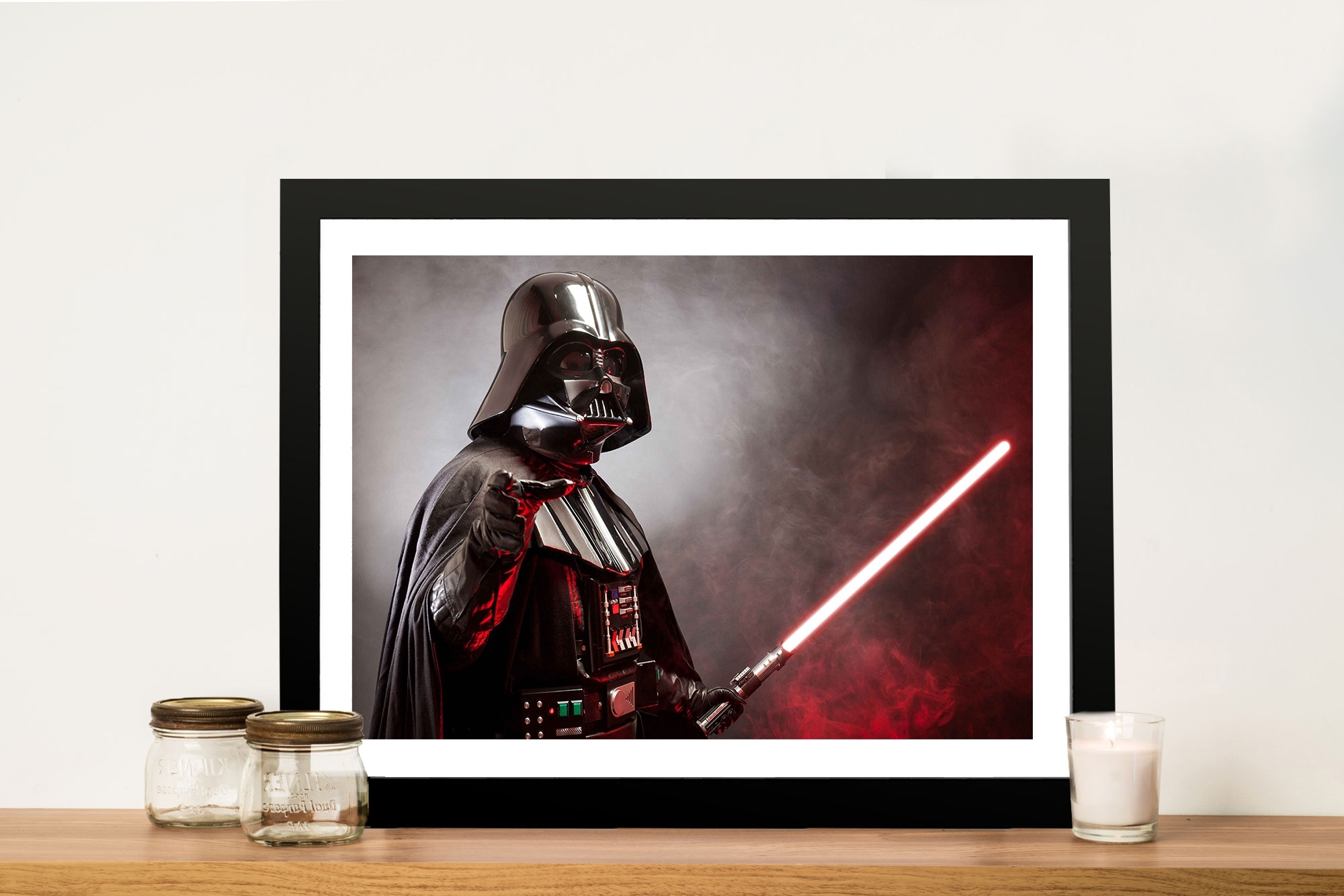 Most Popular Darth Vader Wall Art Pertaining To Darth Star Wars Canvas Print (View 5 of 15)