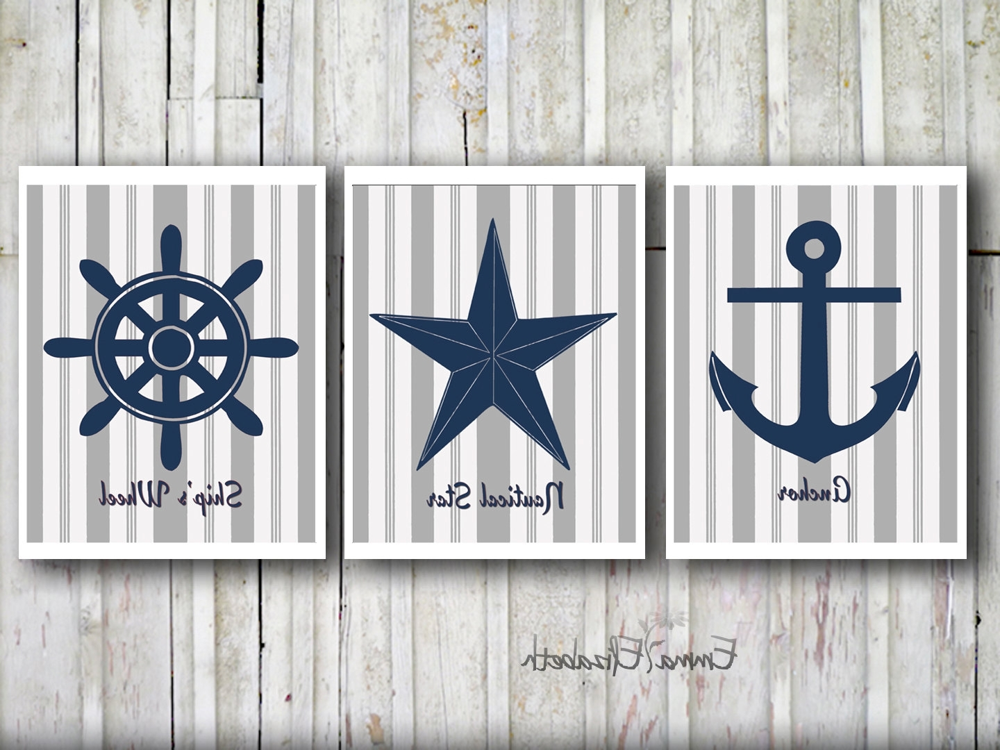 Most Popular Go Unique With Nautical Wall Decor Theme – Designinyou/decor Throughout Nautical Wall Art (View 5 of 15)