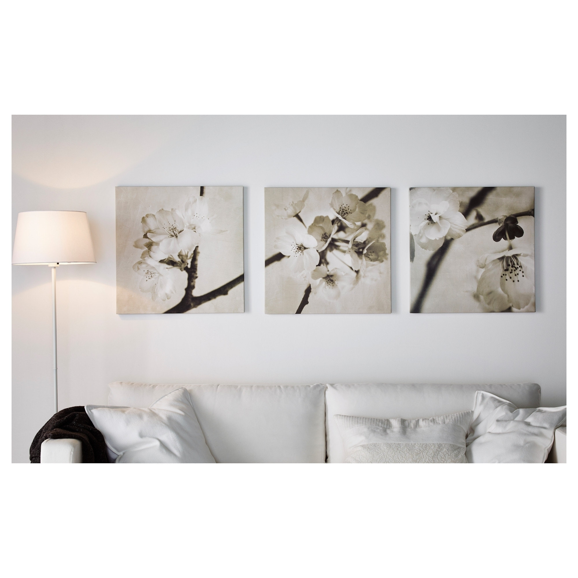 Most Popular Ikea Canvas Wall Art Pertaining To Wall Art Ideas Pictures Framed Ikea Canvas Ready Hang Regarding  (View 13 of 15)