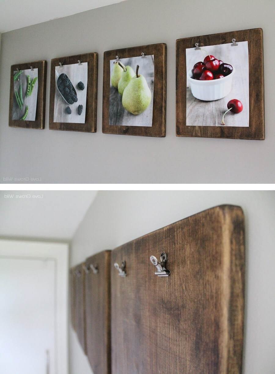 Most Popular Kitchen Wall Art Throughout 36 Best Kitchen Wall Decor Ideas And Designs For  (View 3 of 15)
