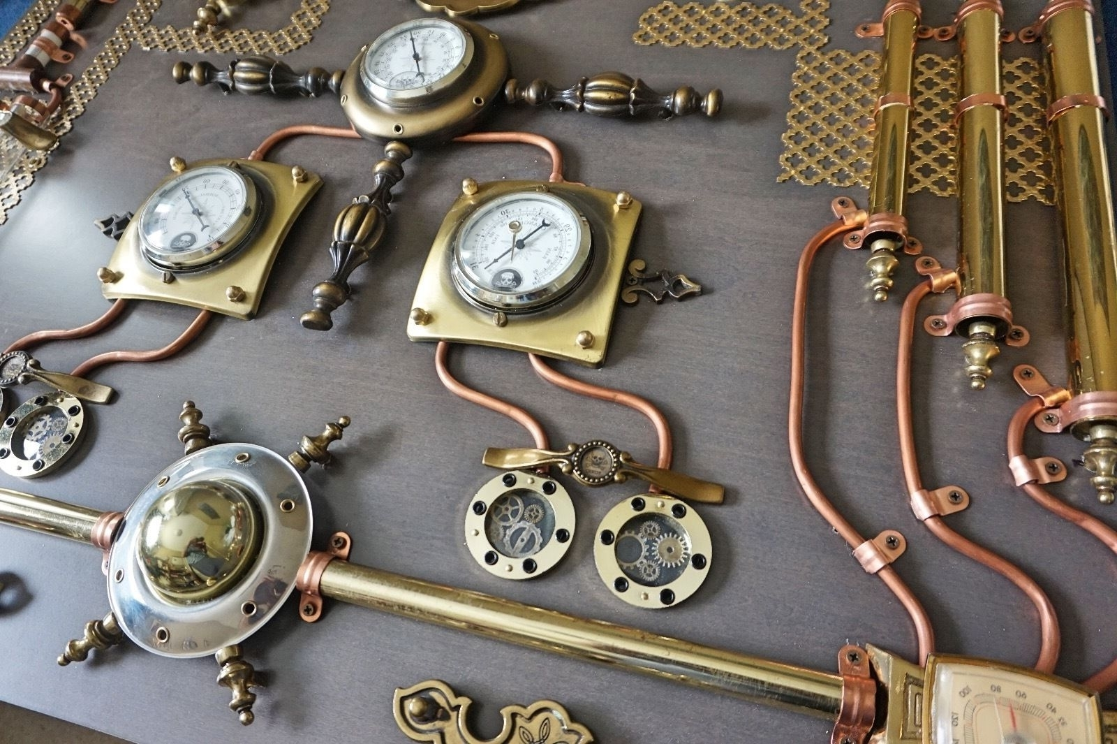 Most Popular Lovely Steampunk Wall Art – Wall Decoration And Wall Art Ideas Intended For Steampunk Wall Art (View 2 of 15)