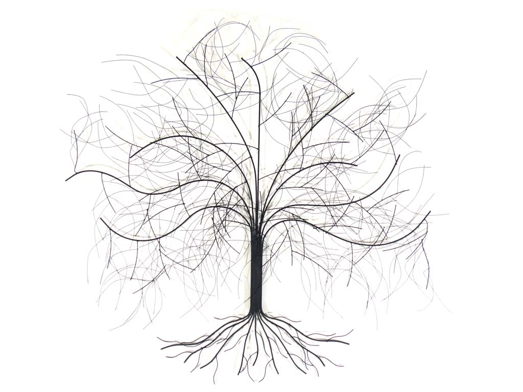 Most Popular Metal Wall Art – Large Oak Tree With Regard To Metal Wall Art Trees (View 11 of 15)
