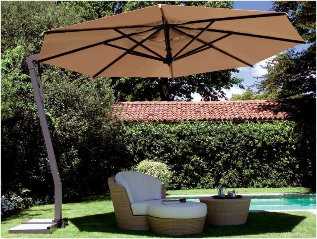 Most Popular Patio Umbrellas At Lowes » Fresh Best Cantilever Patio Umbrellas For Patio Umbrellas At Lowes (View 7 of 15)