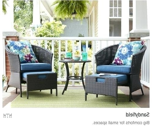 Most Popular Patio Umbrellas For Small Spaces Intended For Small Patio Set Crafts Home Small Patio Set Small Patio Set With (View 6 of 15)