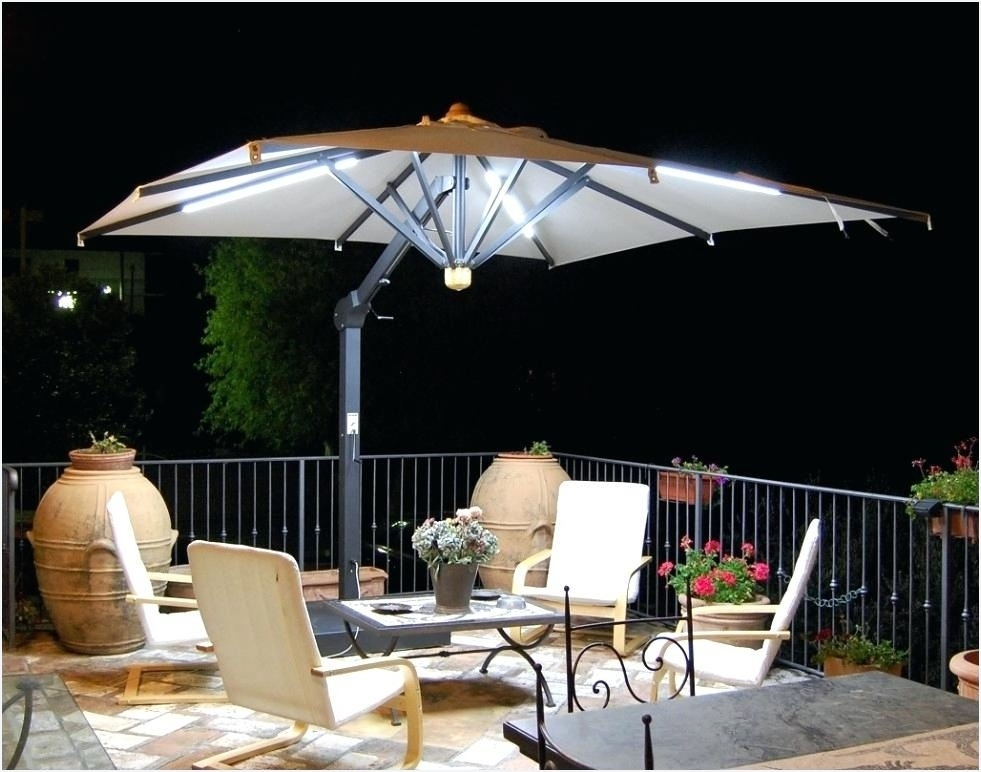 Most Popular Patio Umbrellas With Fans Regarding Patio Umbrella Fan » Get Outdoor Umbrella Accessories Anabot Co (View 5 of 15)