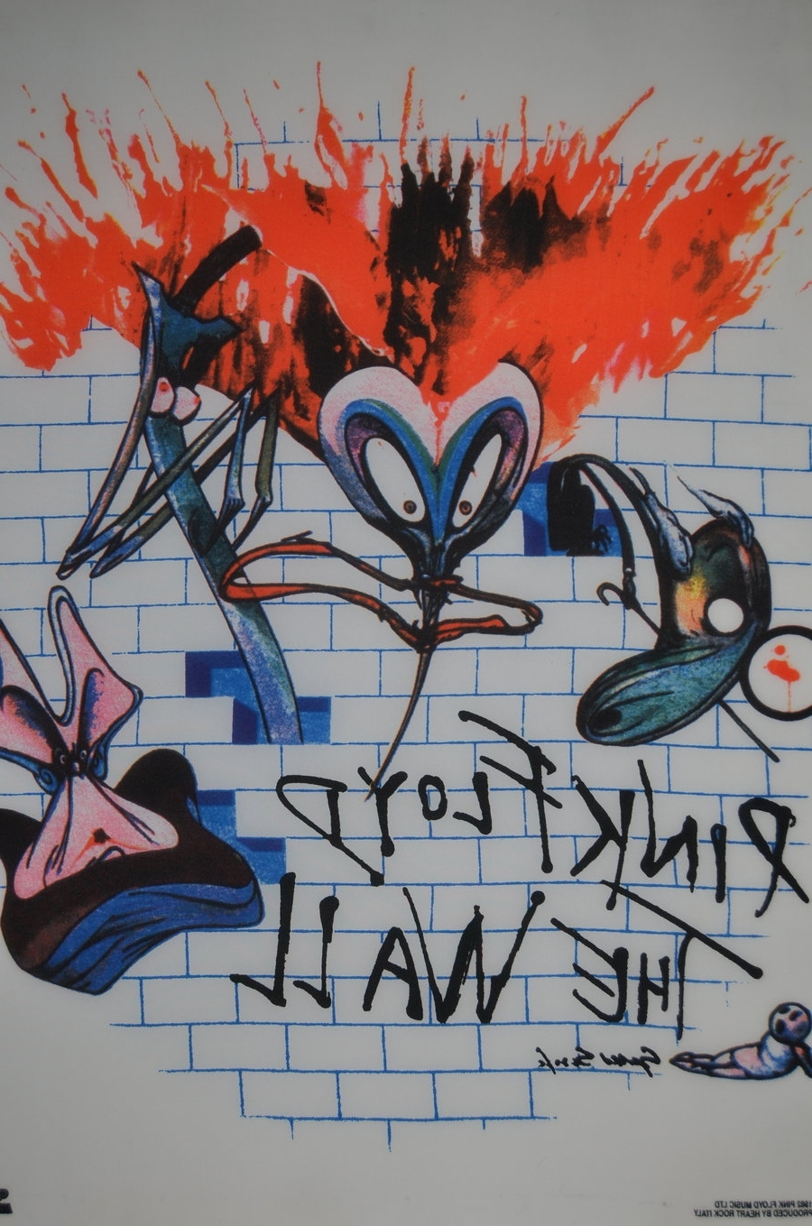 Most Popular Pink Floyd The Wall Art With Pink Floyd The Walldinkok On Deviantart (View 11 of 15)