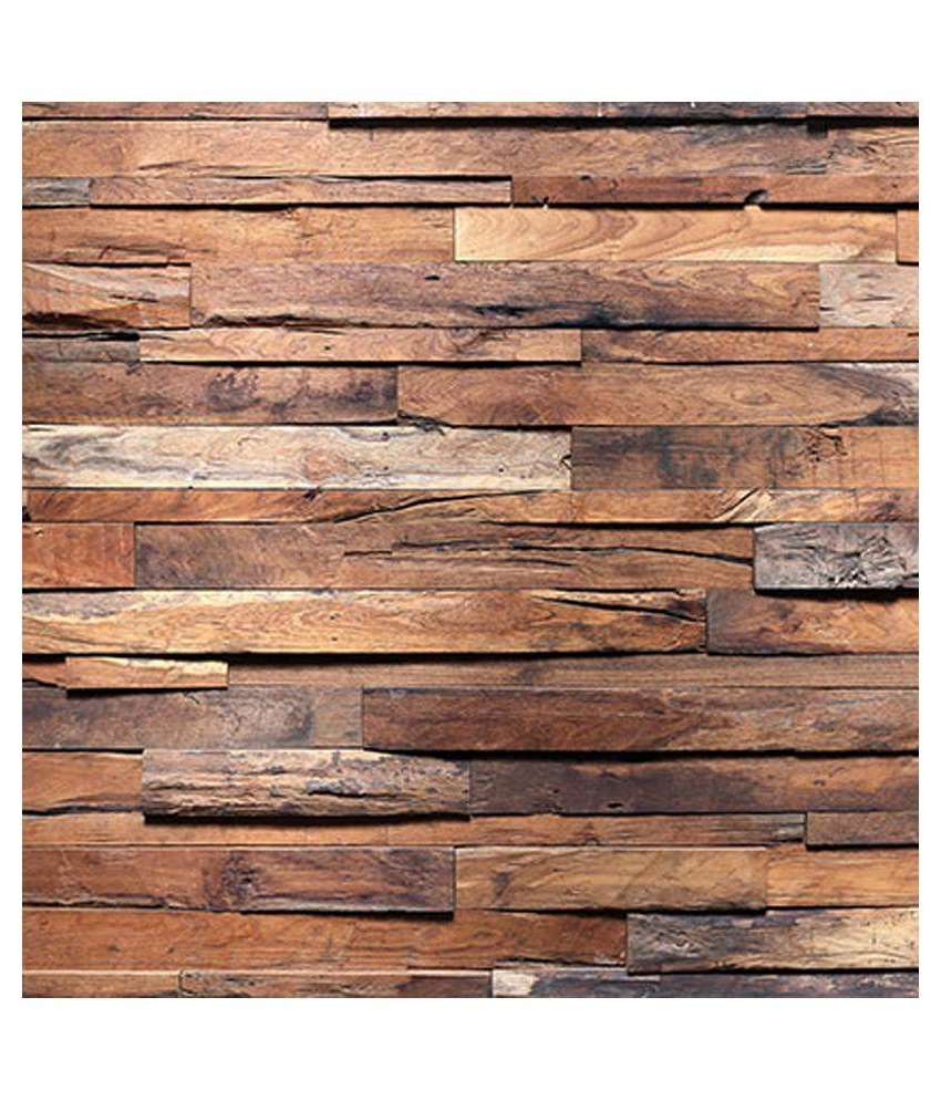 Most Popular Plank Wall Art Within Buy Wall Art Rough Wooden Planks Online At Low Price In India – Snapdeal (View 9 of 15)