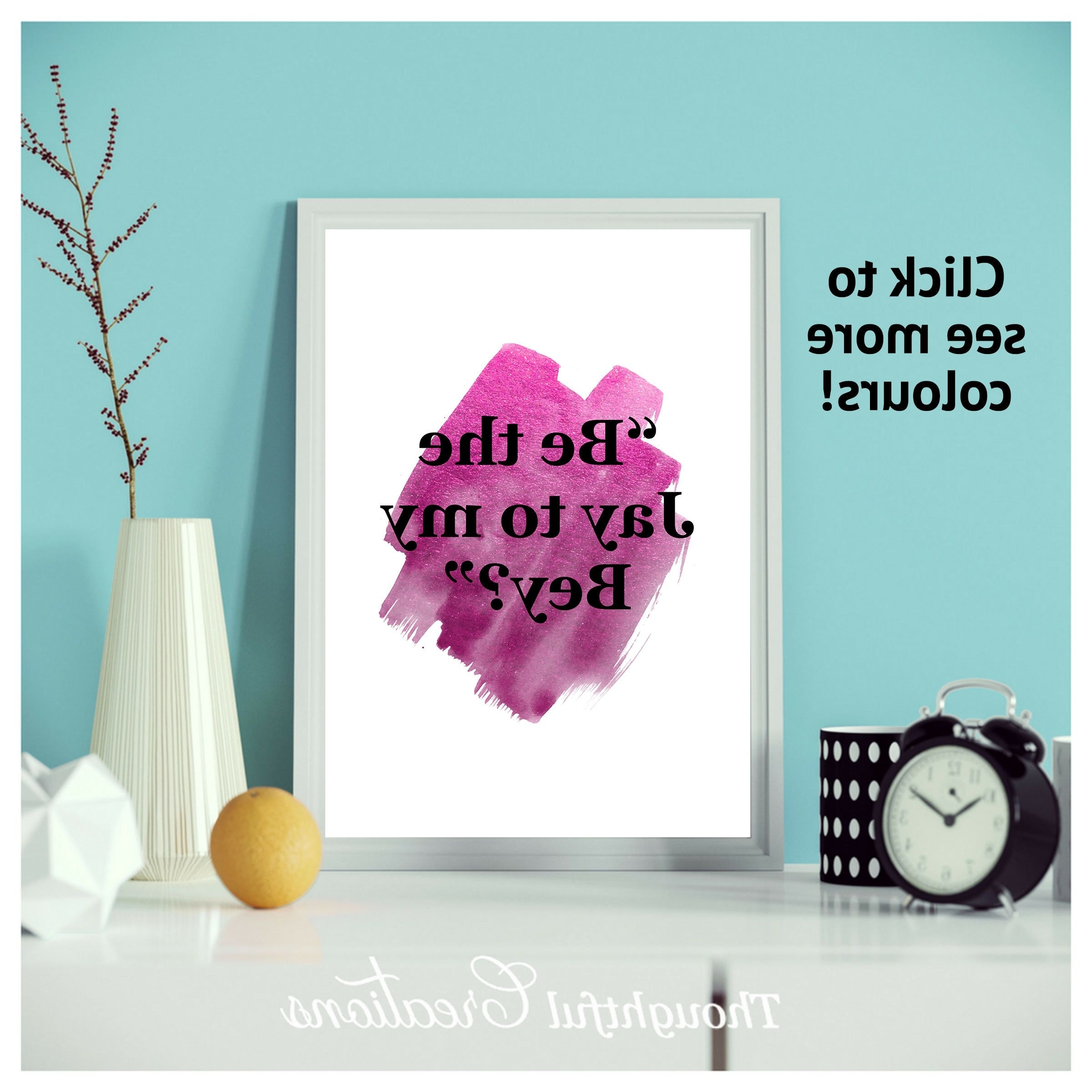 Most Popular Teen Wall Art With Regard To Riverdale, Quote Print, Riverdale Quote, Quote Wall Art, Teen Wall (View 4 of 15)