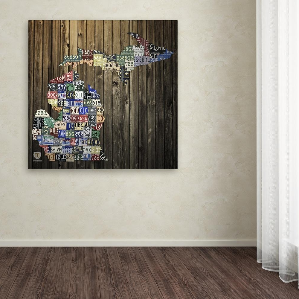 Most Popular Trademark Fine Art 18 In. X 18 In (View 3 of 15)